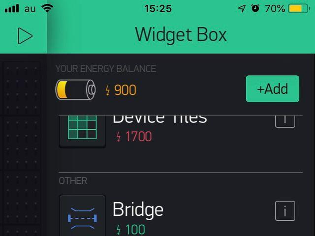 Widget Box