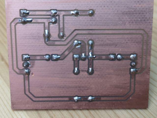 作成したプリント基板